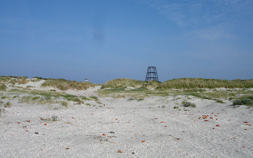 The Cape on Rottumeroog (Photo Mieke Bon)