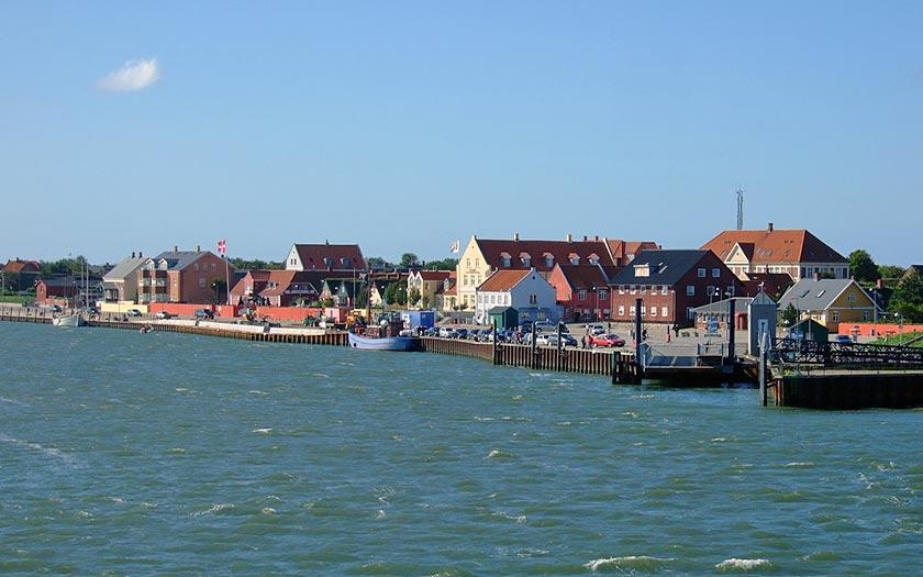 Aankomst op Fanø, foto van Elizabeth Gomm, via www.Flickr.com
