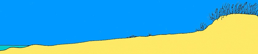 Tekening van duinvorming -1