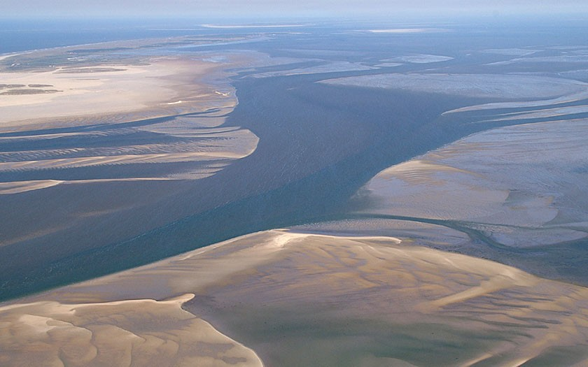 Aerial view of the wadden region (Photo: www.fotofitis.nl)