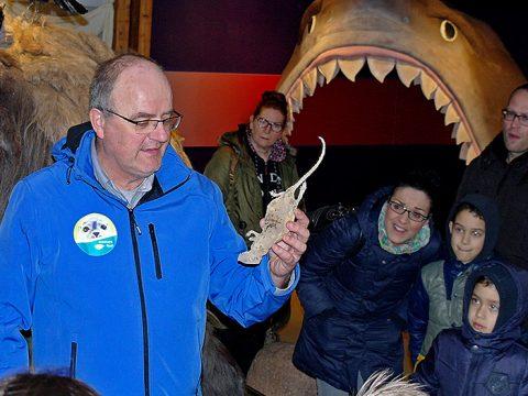 Conservator Arthur Oosterbaan vertelt over mummies in het museum