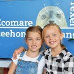 Jonge donateurs tijdens de donateursdagen