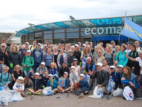 Beach Cleanup Tour bij Ecomare
