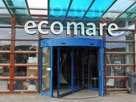 Corona maatregelen Ecomare op Texel