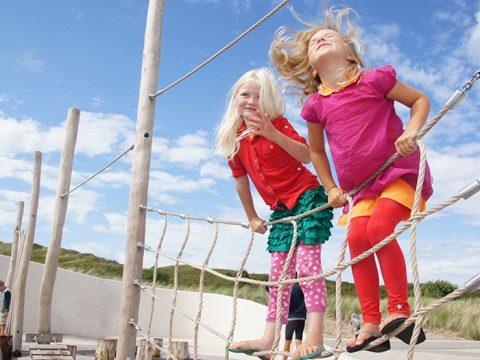 Spelen bij Ecomare op Texel